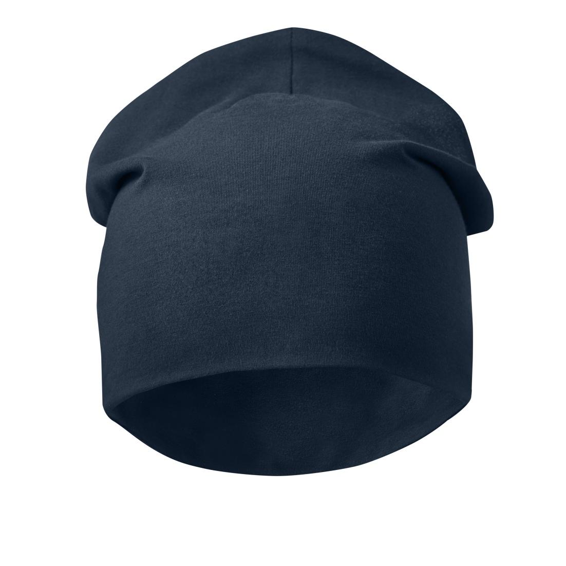 AllroundWork Cotton Beanie, Donker Blauw (9500), 000